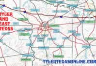 Maps of Tyler and East Texas counties
