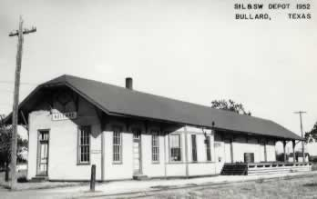 Bullard, Texas Depot of the St. Louis and Southwestern Railroad, the Cotton Belt Route