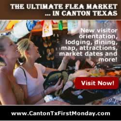 Canton First Monday Trade Days ... click for details!