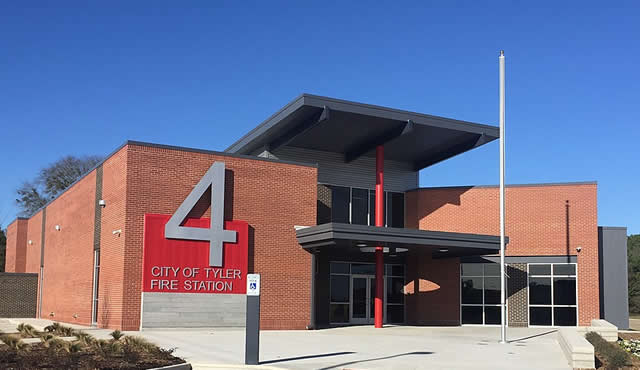City of Tyler, Fire Station Number 4, off Cumberland Road ... opened in 2020
