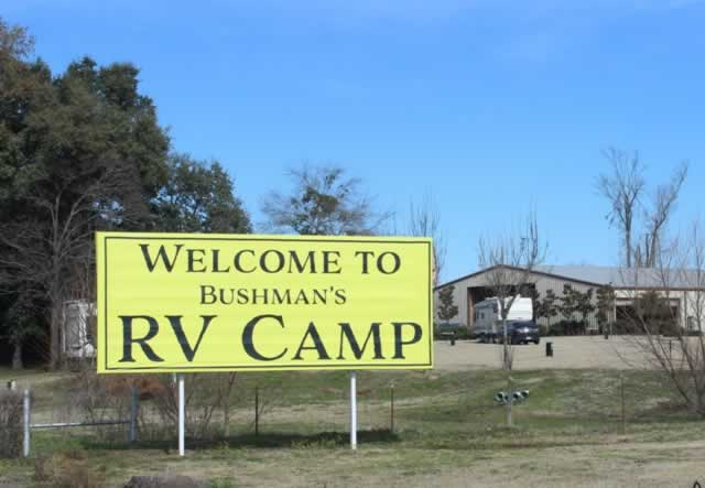 K.E. Bushman's Camp at Kiepersol south of Tyler in Bullard, TX