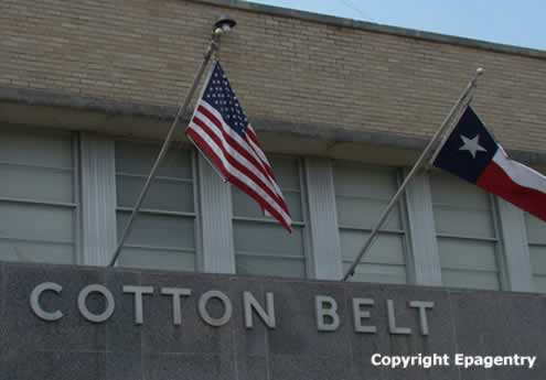 Cotton Belt Railroad Building in Tyler Texas