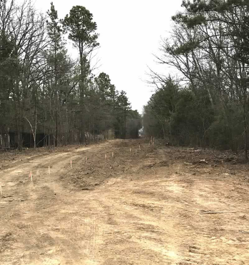 Legacy Trails construction underway near The Crossing in Tyler