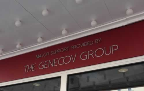 Liberty Hall: major support provided by The Genecov Group