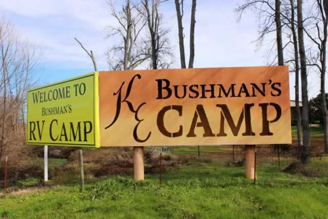 KE Bushman's RV Camp at Kiepersol in Bullard, Texas, on U.S. Highway 69