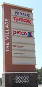 Photo of the signage for the The Village at Cumberland Park in Tyler, Texas