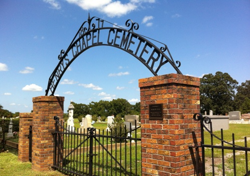 Henry's Chapel Cemetery, near Troup, Texas