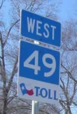 Loop 49 Toll Road, Tyler Texas