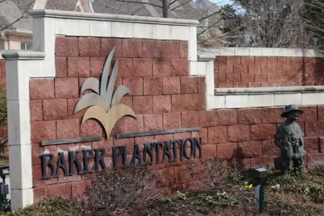 Baker Plantation on Old Bullard Road, south of Toll 49 in Tyler Texas