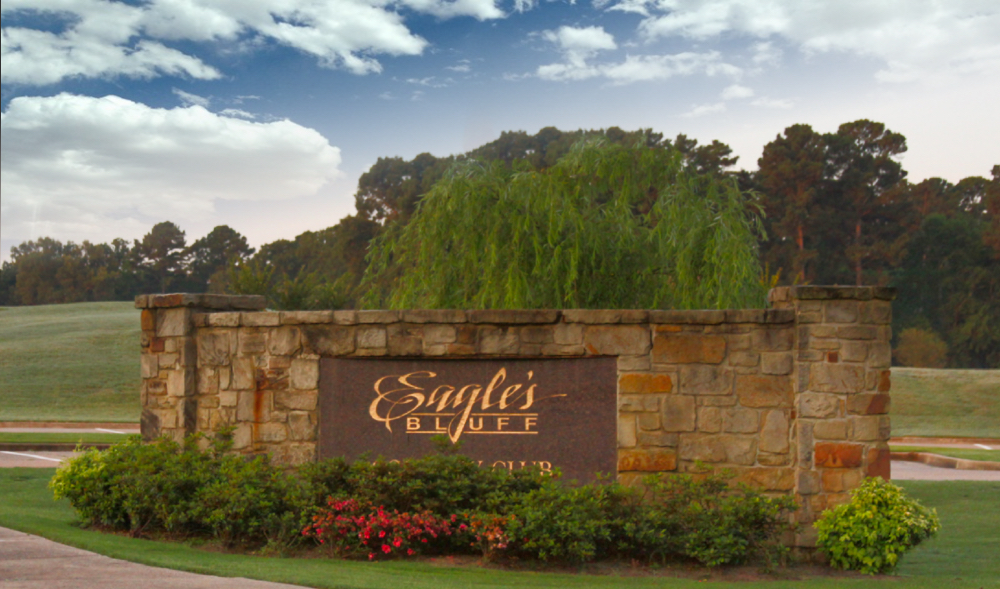 Eagle's Bluff Country Club and devleopment, on Lake Palestine near Tyler Texas
