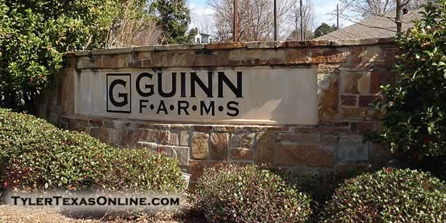 Guinn Farms in Tyler Texas