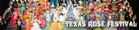 87th Annual Texas Rose Festival to be held on October 15-18, 2020
