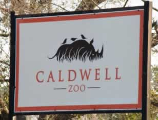 The Caldwell Zoo in Tyler
