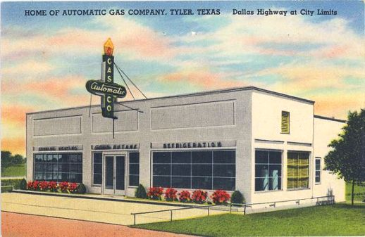 Automatic Gas Company, Dallas Highway at City Limits, Tyler, Texas