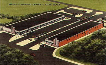 Bergfeld Shopping Center, Tyler, Texas