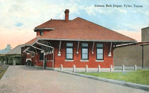 Cotton Belt Railroad, Depot, Tyler, Texas