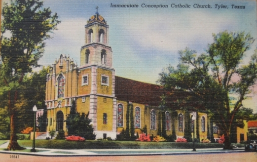 Immaculate Conception Church and Cathedral, Tyler, Texas