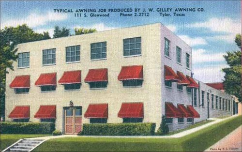 Tyler Texas Historic Postcard Collection: Businesses ...