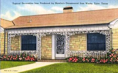 Nawlins Ornamental Iron Works, Tyler, Texas