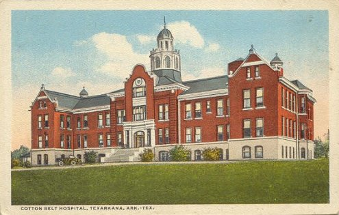 Cotton Belt Railroad Hospitals In Tyler Texas And