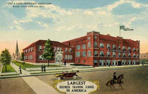 Commercial College, Tyler, Texas