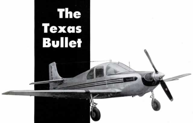 The Texas Bullet airplane