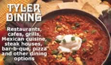 Tyler restaurants, cafes, grills and other dining options