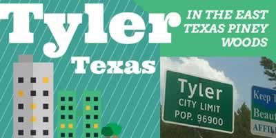 Tyler Texas ... in the East Texas Piney Woods