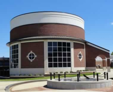 The CESSE Hudnall Planetarium at Tyler Junior College, Tyler, Texas