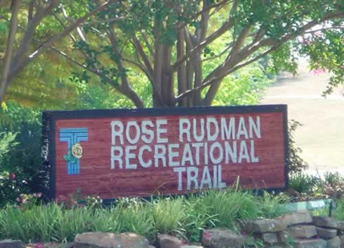 Rose Rudman Recreational Trail in Tyler