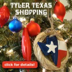 Shopping in Tyler ... Broadway Square Mall, Village at Cumberland Park, boutiques and more
