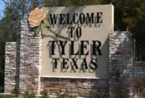 Welcome to Tyler Texas!